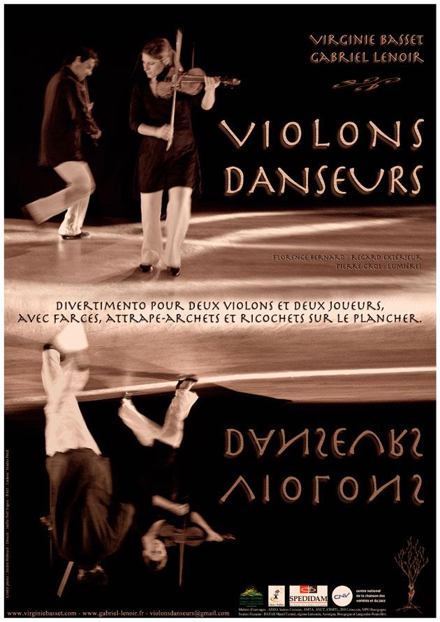 Affiche Violons Danseurs