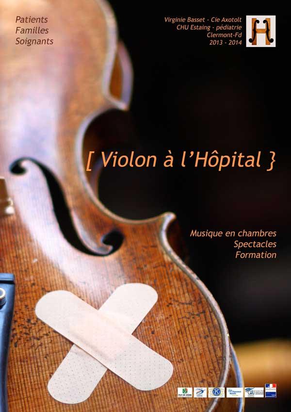 Affiche Violon Hopital